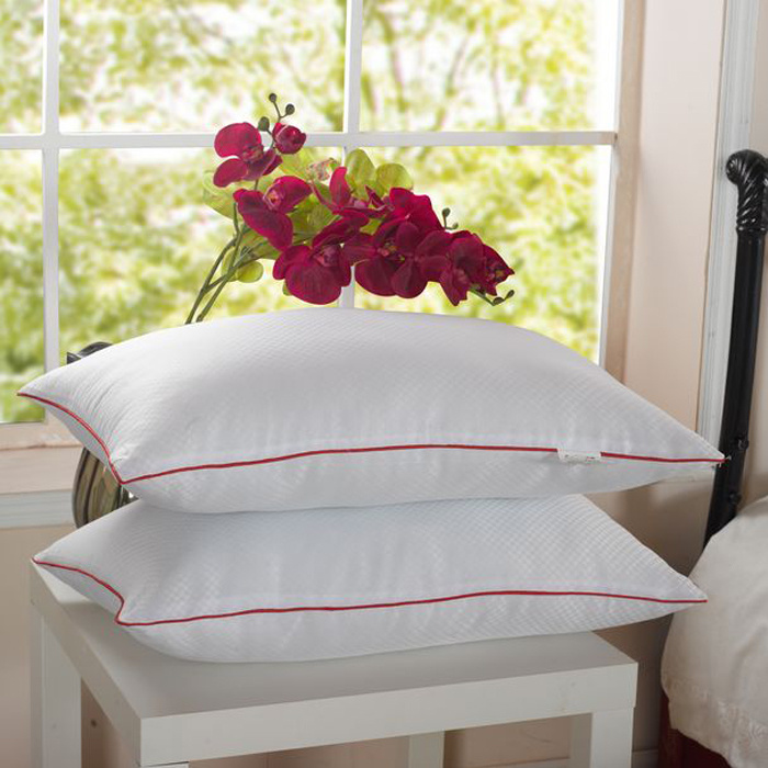 Cotton Fabric Shell Pillow with Piping