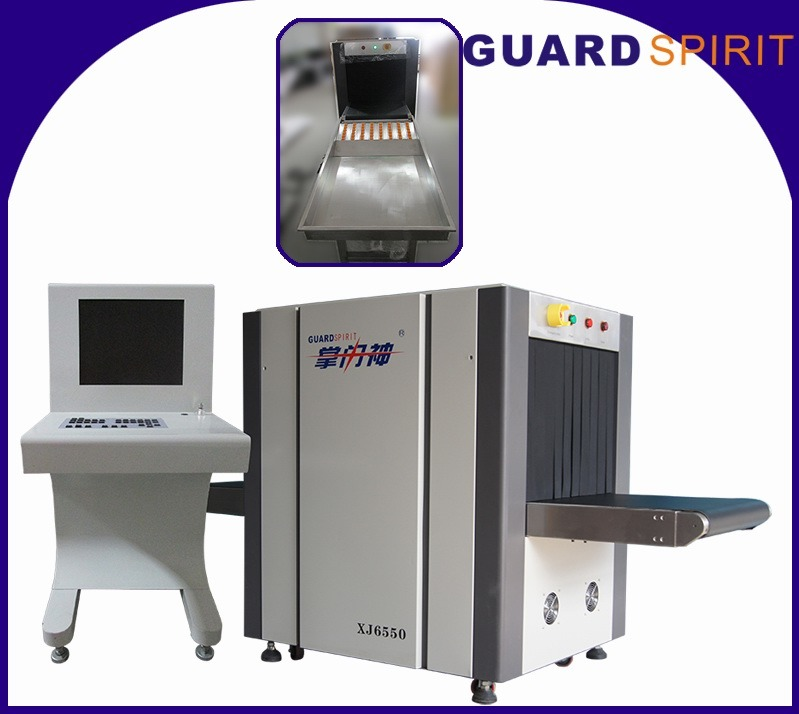 Medium Size X-ray Baggage Scanner Xj6550