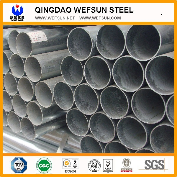 5.8m Threaded Hot Dipped Galvanized Steel Pipe