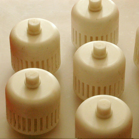 Plastic Bubble Cap Trays Made of PP PVC and PVDF