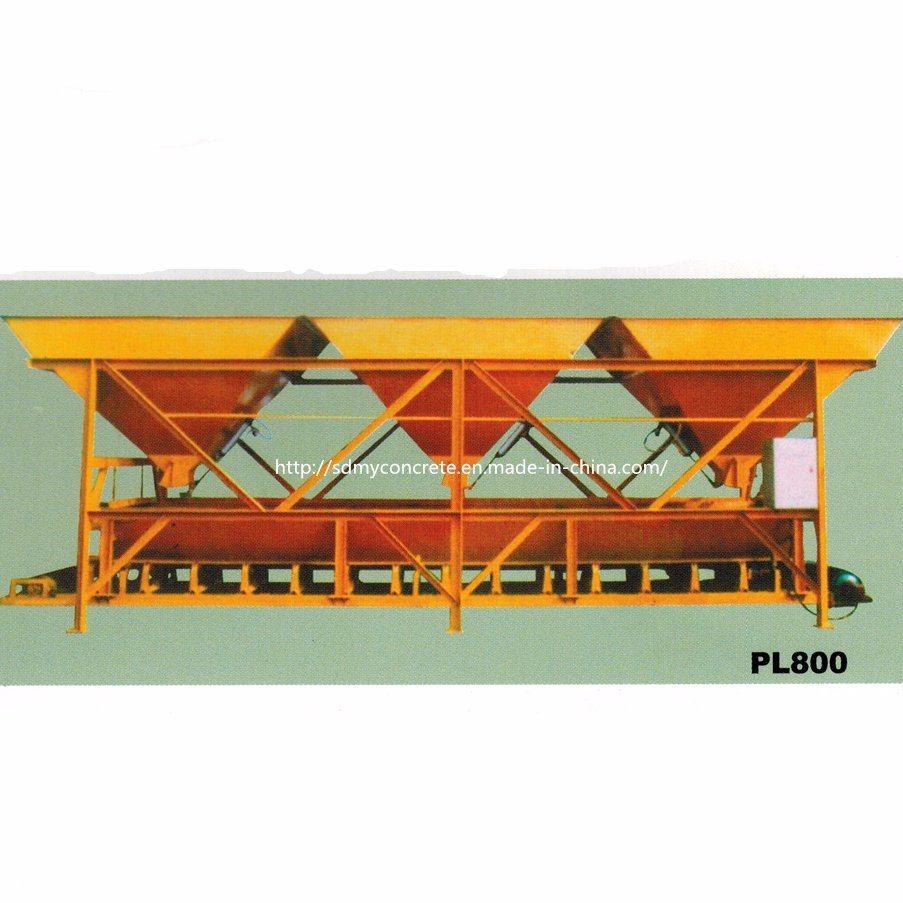 Pl800-3 Aggregate Weighing System Concrete Batching Machine