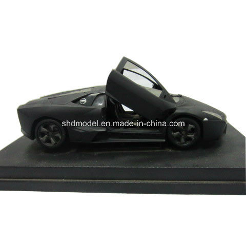 Alloy Die Cast Racing Car with Base (1/48)