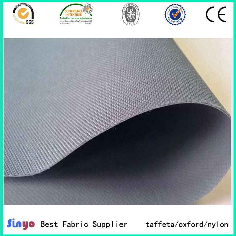PVC Coated Oxford Anti UV Textile 600*300d Tent Fabric Wholesale for Outdoor