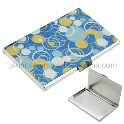 Stainless Steel Business Card Case (JJ-SS-NC02(golden))