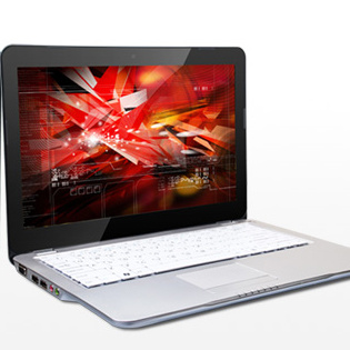 "13"" Apu Laptop/Notebook, Amd Fusion E350, Metal Alloy Housing, Super Thin"