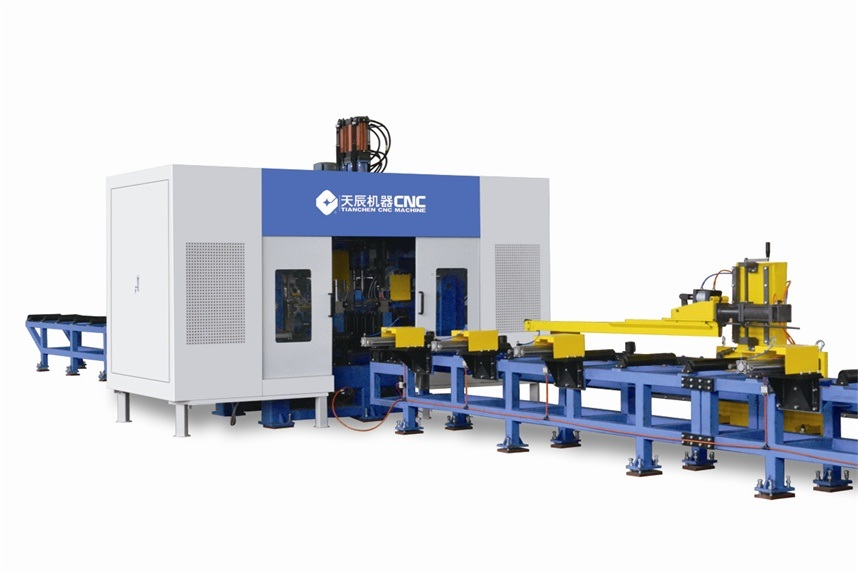 CNC H Beam Drilling Line TSD1250/6