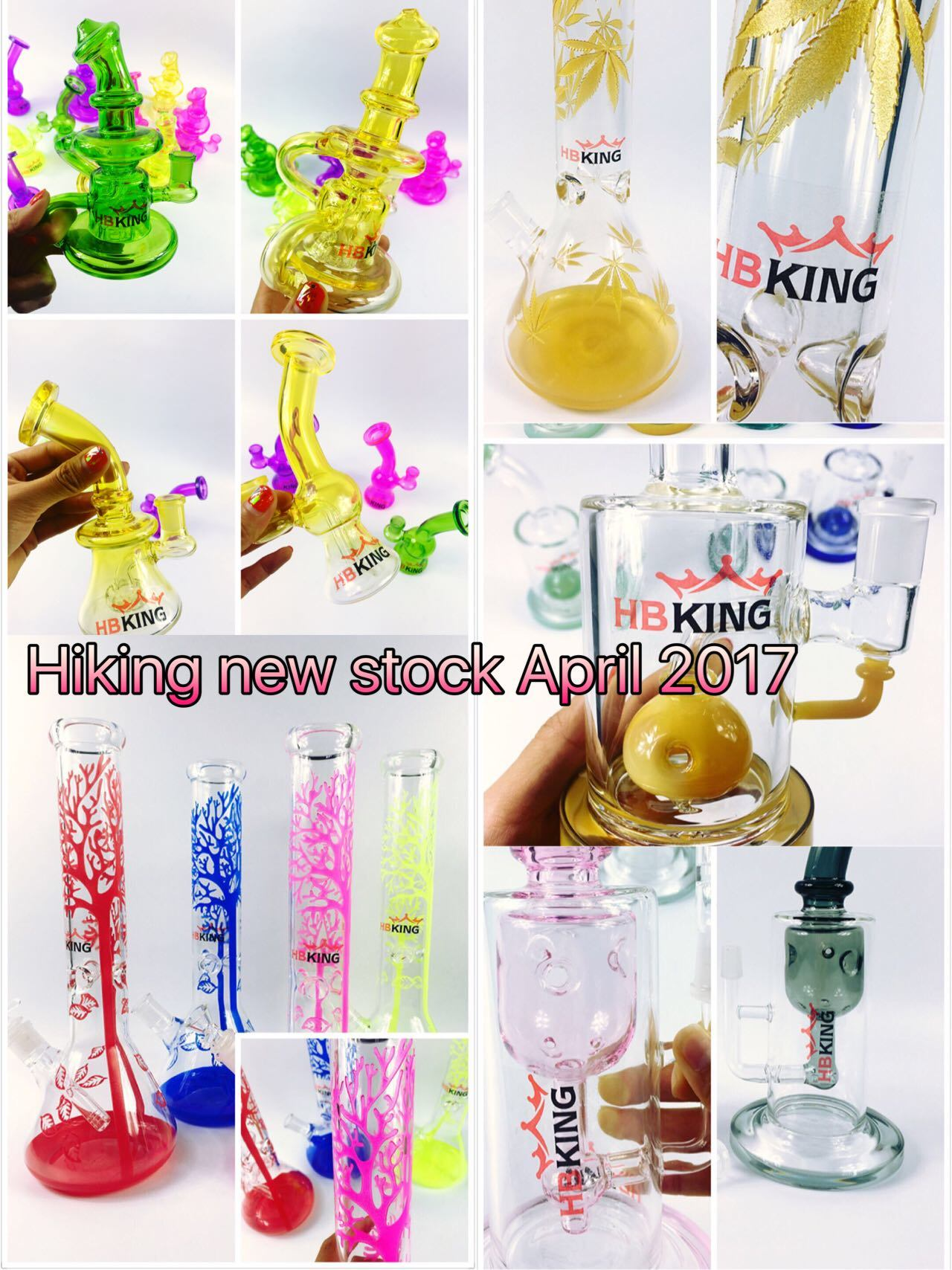 Enjoylife Klein Recycler Egg Glass Water Pipe with Your Brand Service