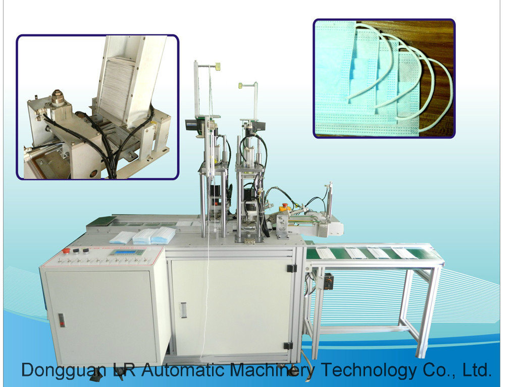 Automatic Ultrasonic Outer Earloop Mask Making Machine