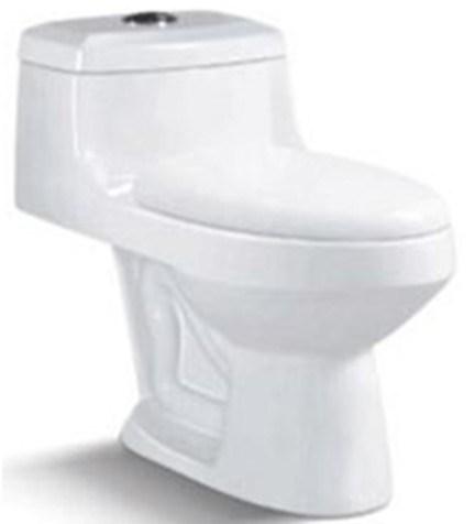 Bathroom Sanitary Ware Siphon Ceramic One Piece Closestool (6237)
