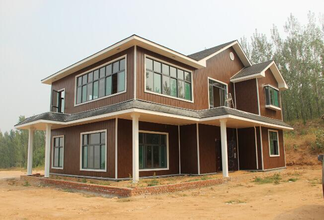 Decorative Heat Insulation Embossed Metallic Panel for Steel Structure Prefabricated Houses
