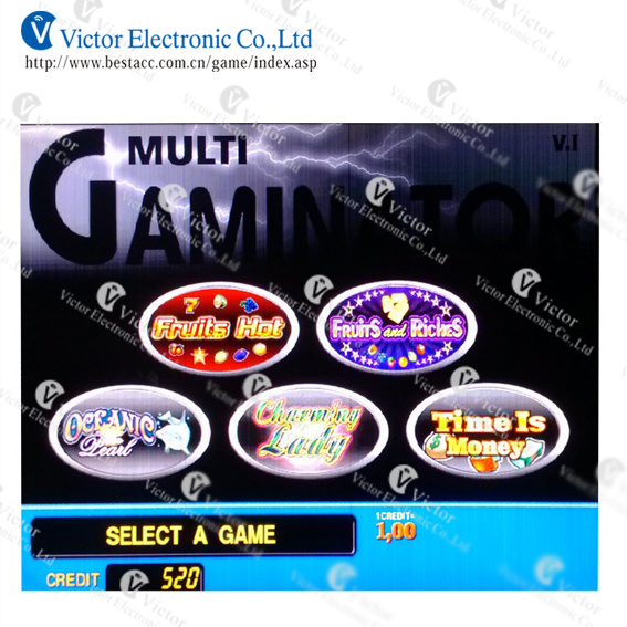 sizzling hot multi gaminator games