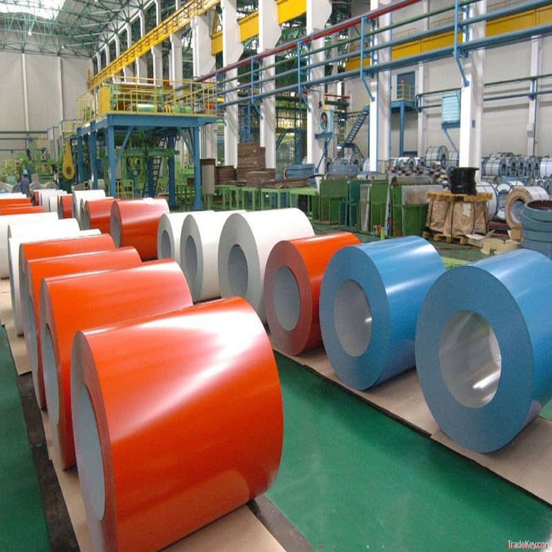 Dx51d Color Coated Hot Dipped Galvanized Steel Coil