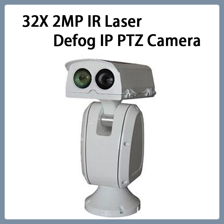 32X 2MP IR Laser Defog IP PTZ Camera