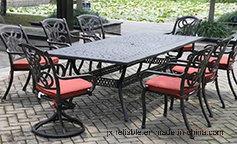 Garden Elegant Patio Dining Set Furniture
