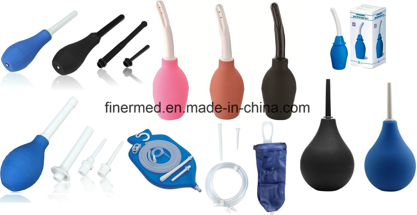 Vaginal Irrigation Enema Douche Bulb Syringe Bag