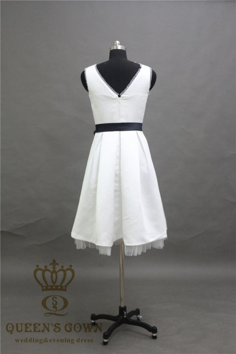 2017 Wholesale Ever Pretty A Line Bridesmaid Dress Sleeveless Knee Length Short Women Dress
