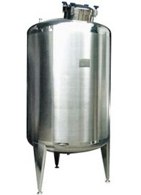 Stainless Steel Horizontal/Vertical Storage Tank for Fluid Liquid