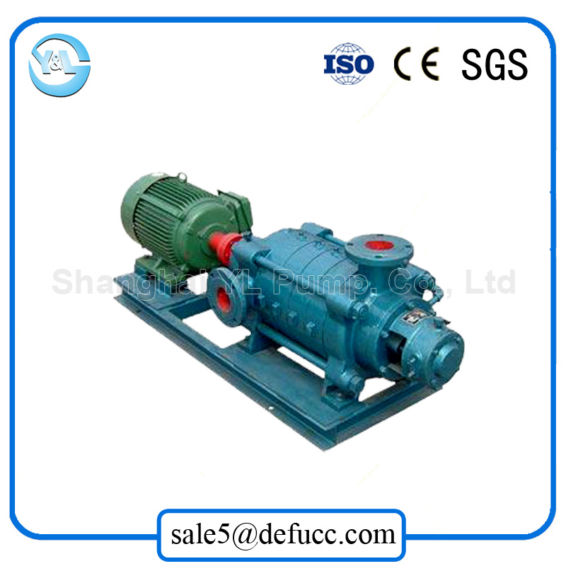 Centrifugal Horizontal Multistage High Pressure Electric Motor Water Pump