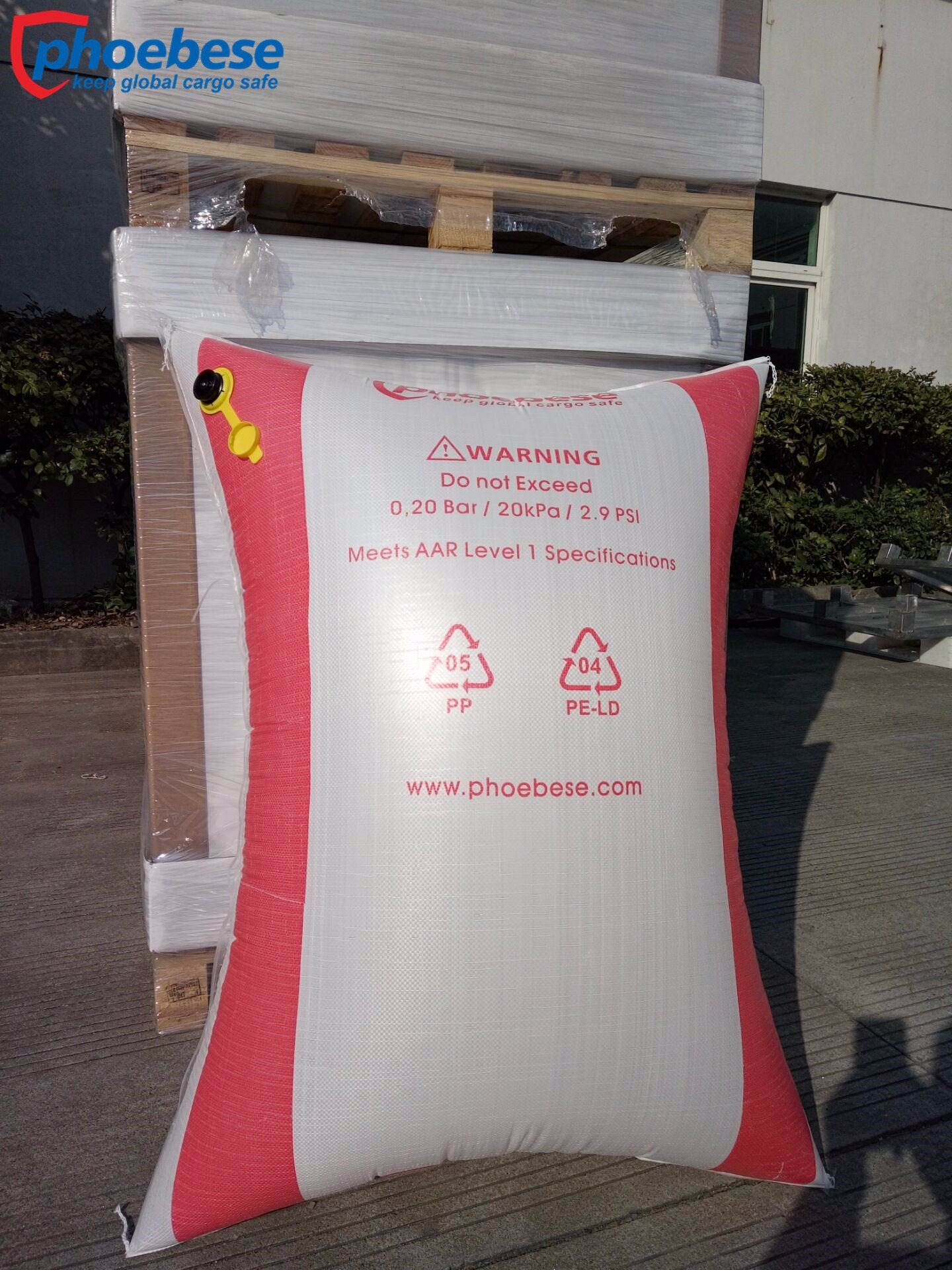 Dunnage Bag Inflatable Bag Track Used Trailer Air Bags