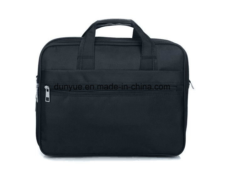 "China Supplier Low MOQ Promotional Nylon Laptop Messenger Bag, OEM Multifunctional Laptop Briefcase Bag Fit for 15.6"" Laptop"