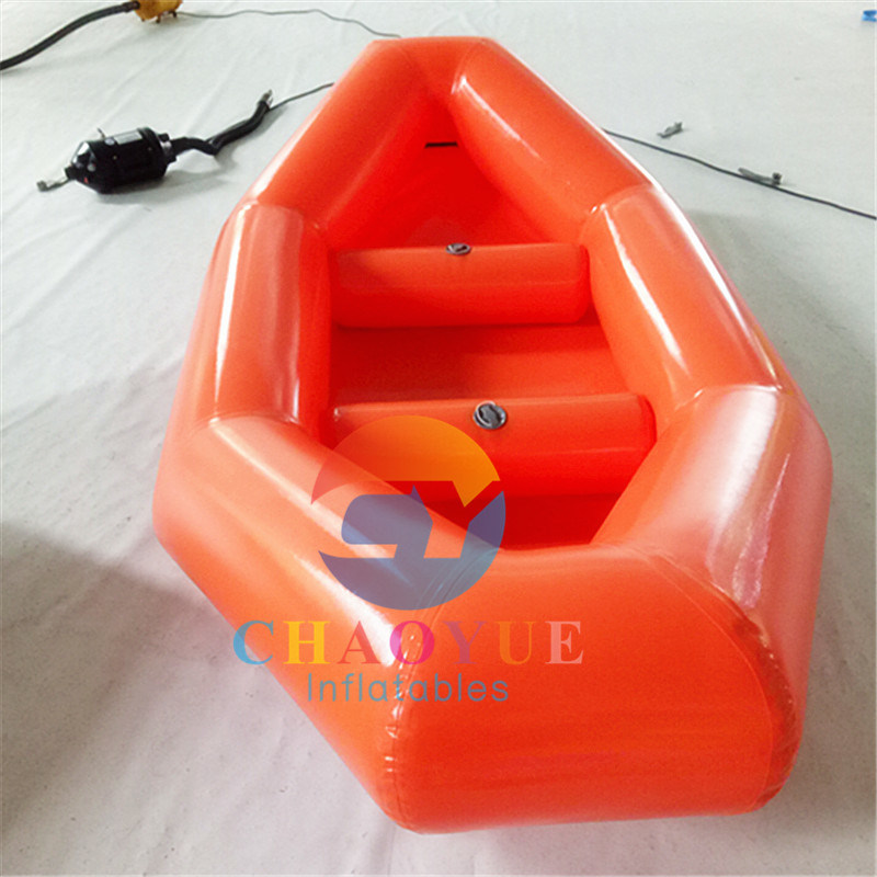 0.9mm PVC Inflatable Water Fishing Boat for Outdoor Fishing
