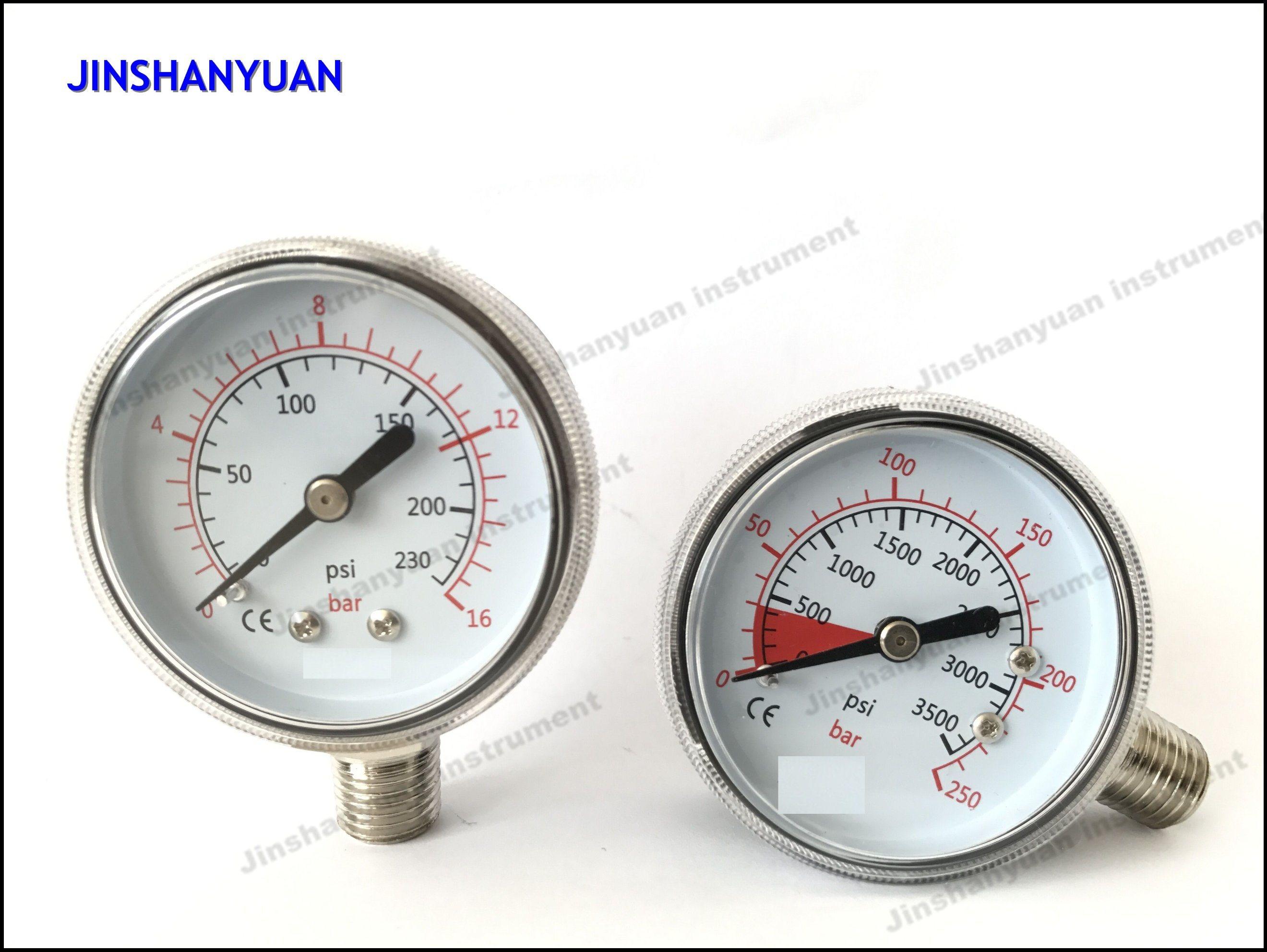 Gpg-006 Reduce Pressure for Ordinary Pressure Gauge/Regulator Double Manomter