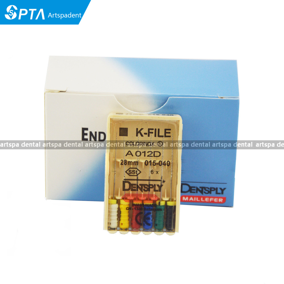 Dental Endodotic Dentsply K-File Root Cannal Hand File