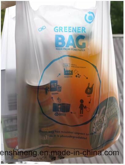 Supermarket Shopping Bags-- Stone Paper (SPN40um-80um)