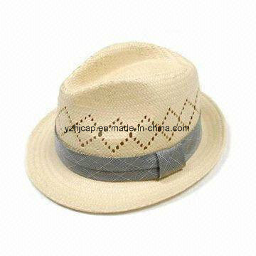 Trilby Straw Paper Hat