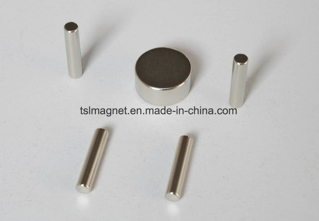 Sintered Rare Earth Permanent Rod NdFeB Magnets