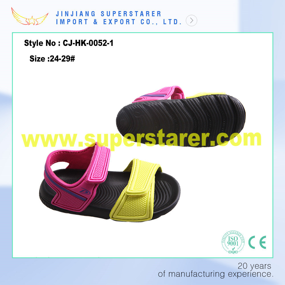 Funky Cute Eve Kids Sandals with PU Upper with Stick Strap