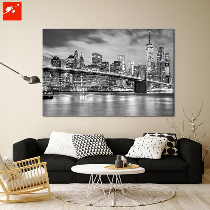 Black and White New York Urban Canvas Prints