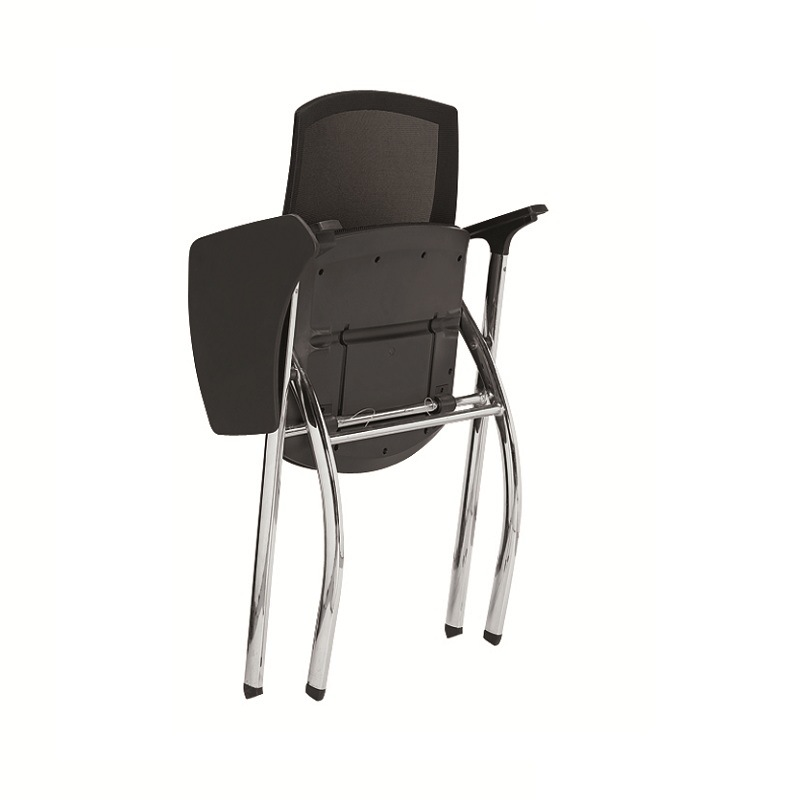 2017 Meeting Room Office Folding Training Chair with Writing Pad