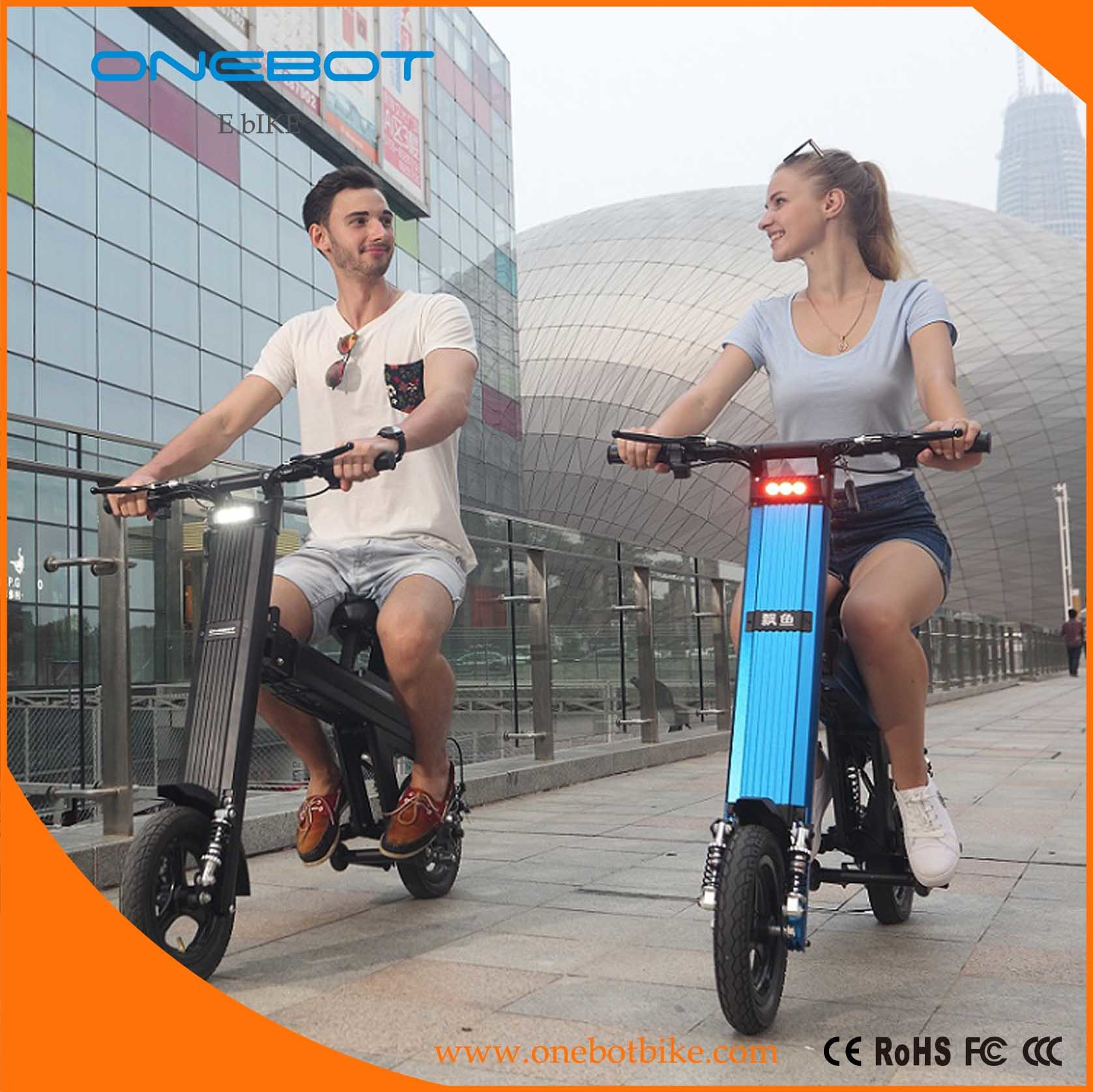 2017 Newest Folding Ebike Unique Design E Scooter