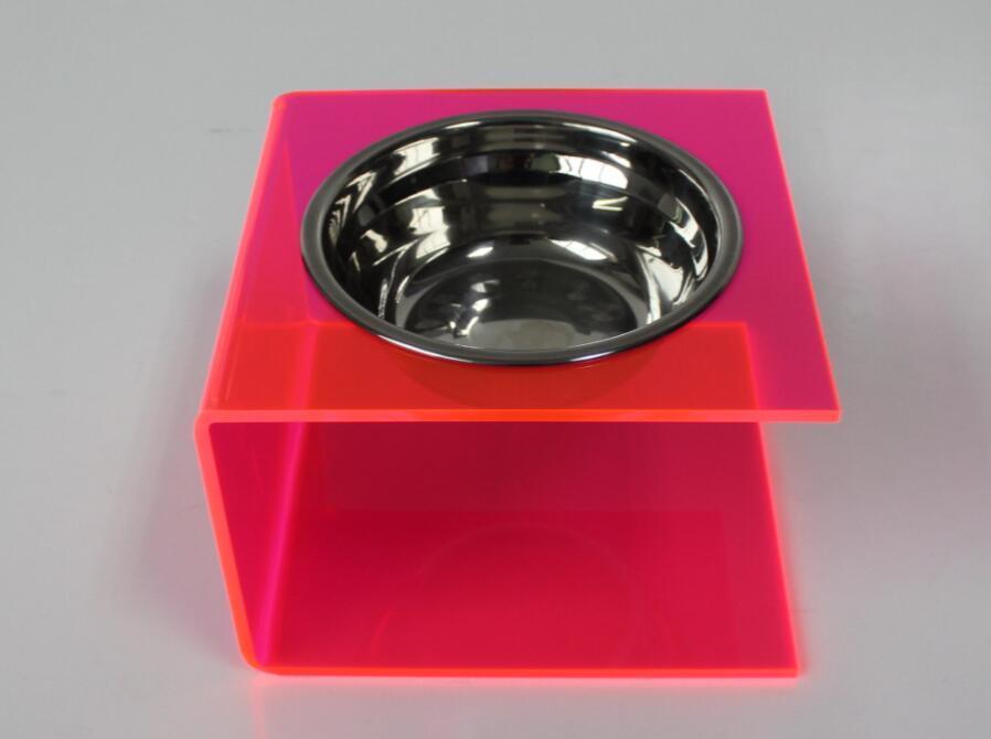 Acrylic Pet Feeder, Dog/Cat Feeder