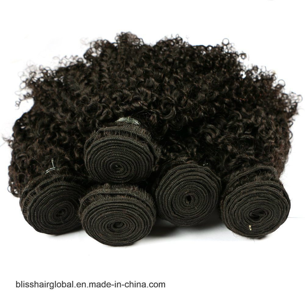 "Bliss Brazilian Plus Baby Deep 10""-30"" Hot Sale Raw Unprocessed Virgin Brazilian Kinky Curly Hair"