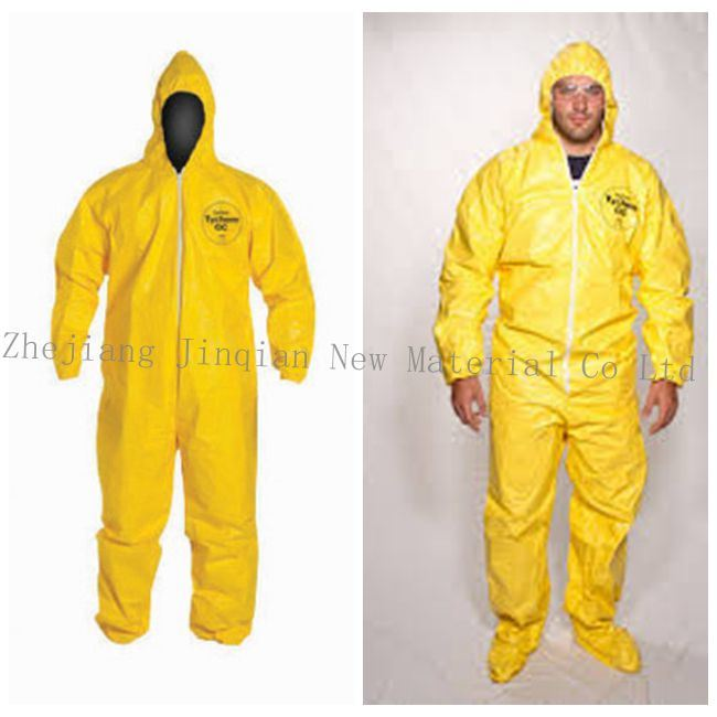 Industry Protective Coverall Material Waterproof PE Lamination Nonwoven Fabric