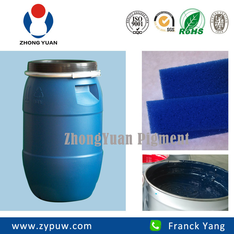 Zy-401 Blue Colorant (for PU flexible foam products)