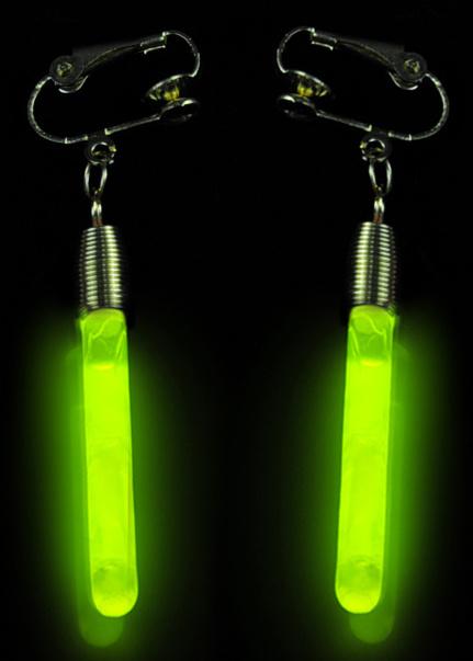Light in The Dark Glow Earring Pendant (EZD4540)