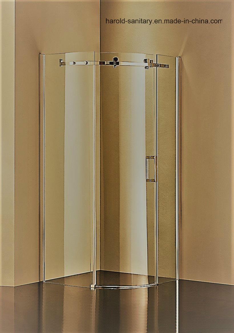 Hr-05-C Sector Single Sliding Door Shower Enclosure
