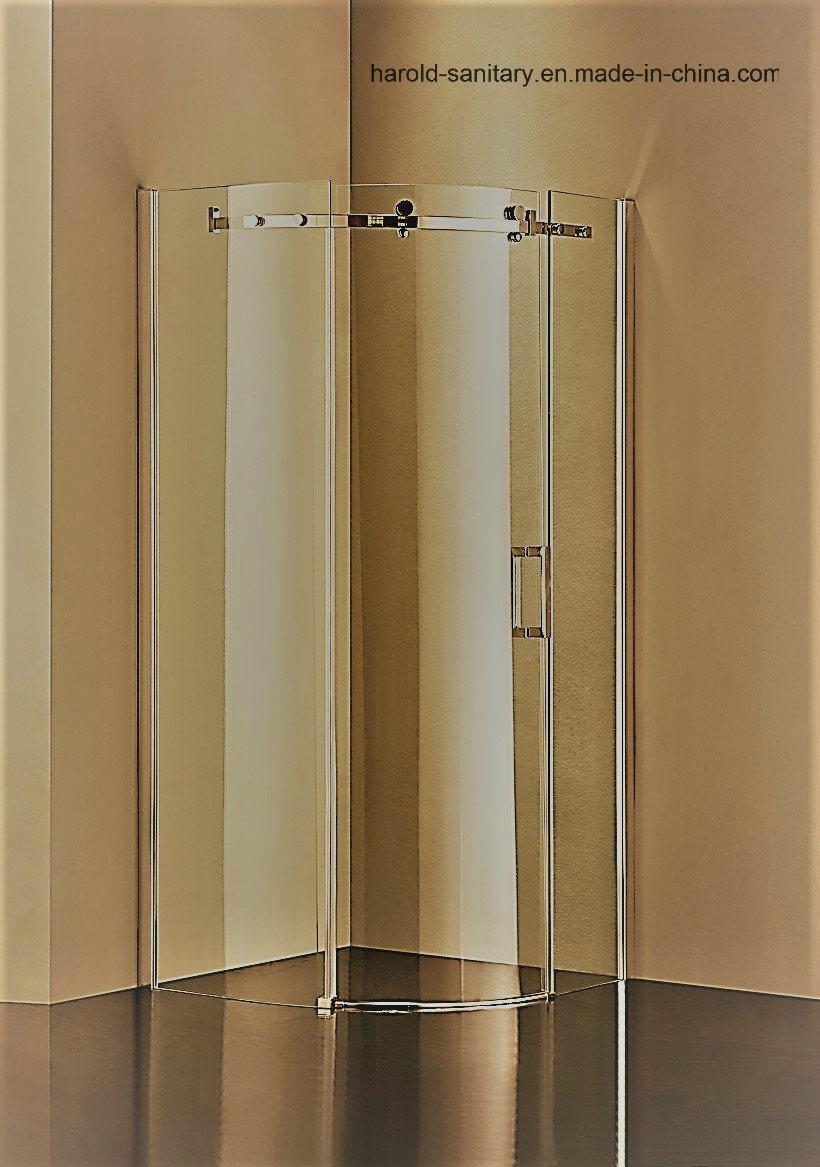 Hr-05-C Sector Sliding Door Shower Enclosure