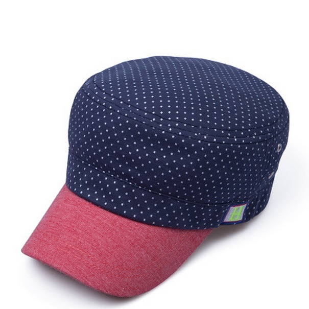 Women′s Wave Point Flat Top Cap