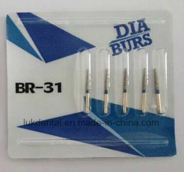 Manufacturer Top Quality Diamond Dental Burs Dental Instrument