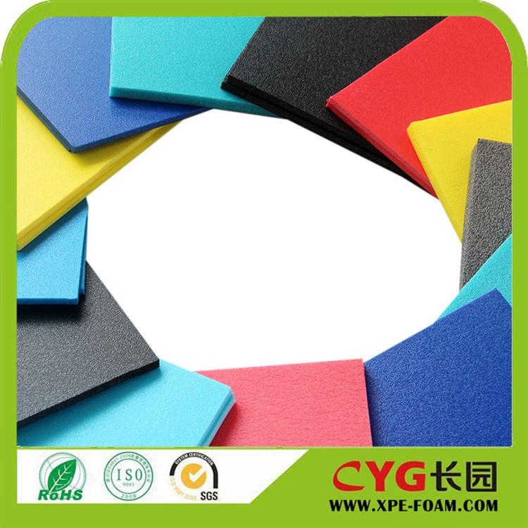 15years Cross Linked Polyethylene Duocolors PE Foam Foam Wig Material PE Foam Manufacturer