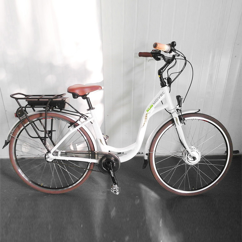 700c City Electric Bike with Shimano Nexus 3-Speed