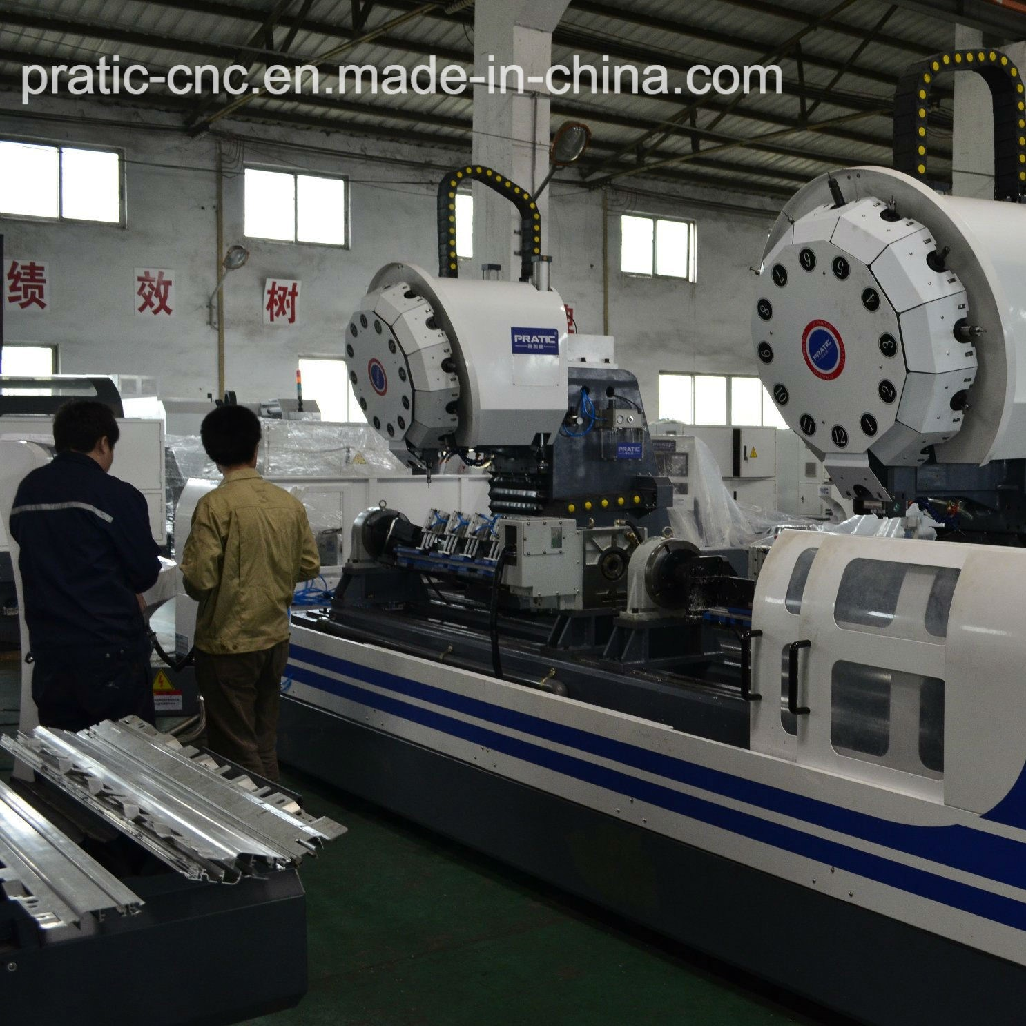 CNC 3 Axis Turret Tool Magazine Milling Machine -Pratic Pz Series