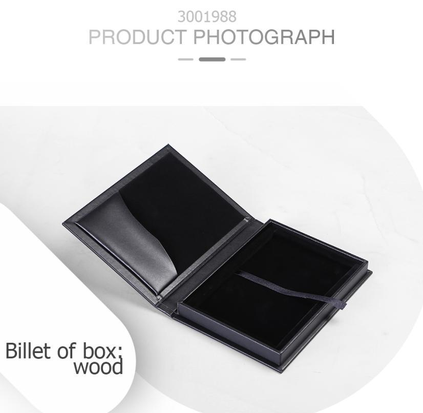 Modern High-Grade Durable Wooden Coin Gift Package Box