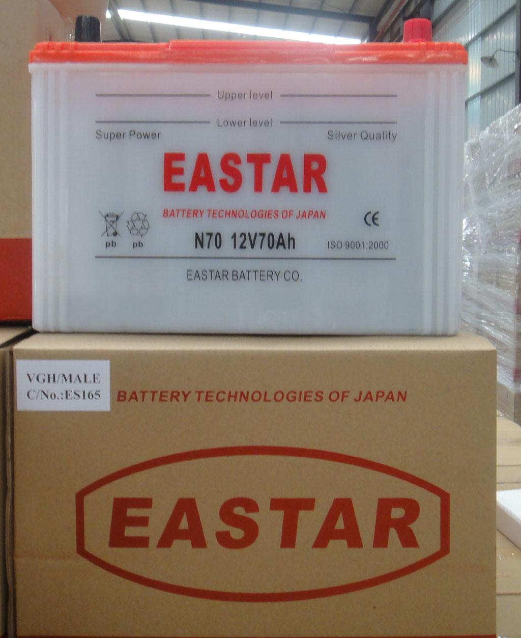 N70/65D31r 12V 70ah JIS Standard-Dry Charged Car Truck Battery