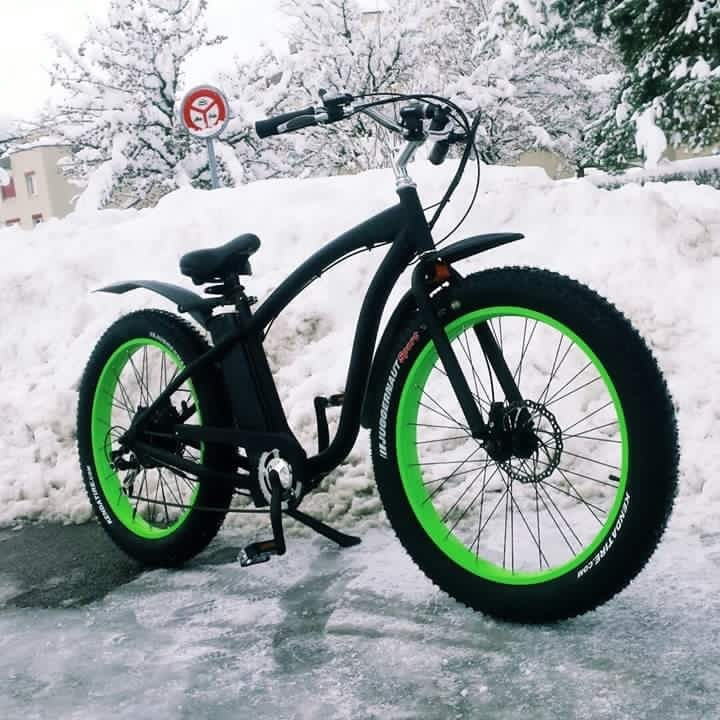 Fat Cruiser Snow Electric Bicycle 48V 1000W