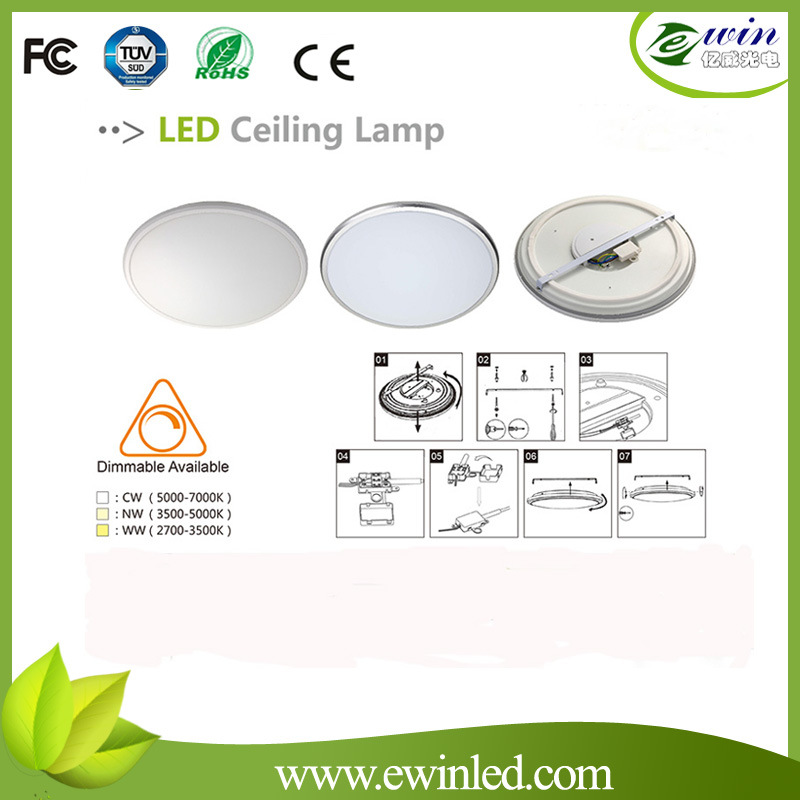 Ultra Thin Digital Surface Mounted Absorb Dome Light Motion Sensor LED Plafond Lamp